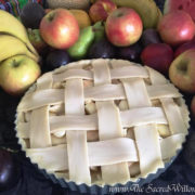 Apple and Peach Pie For Lammas